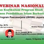 Webinar Review Kurikulum Program Studi MPI UNISNU Jepara